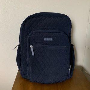 Iconic Vera Bradley Backpack in Navy